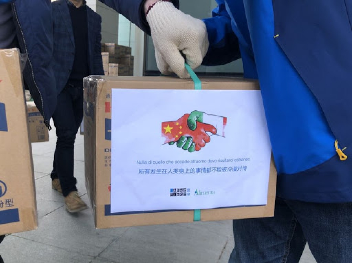Coronavirus Update from China: Chinese firms aid Italy's anti-virus fight with donations of medical supplies