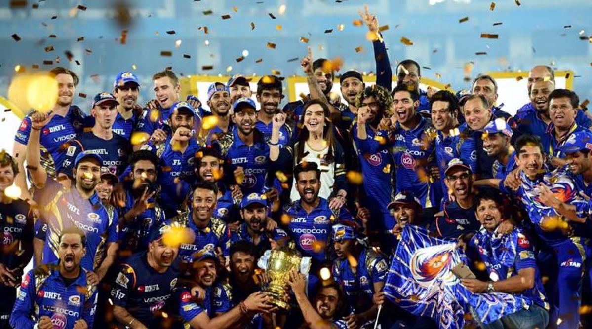 IPL 2019 defending champions Mumbai Indians.