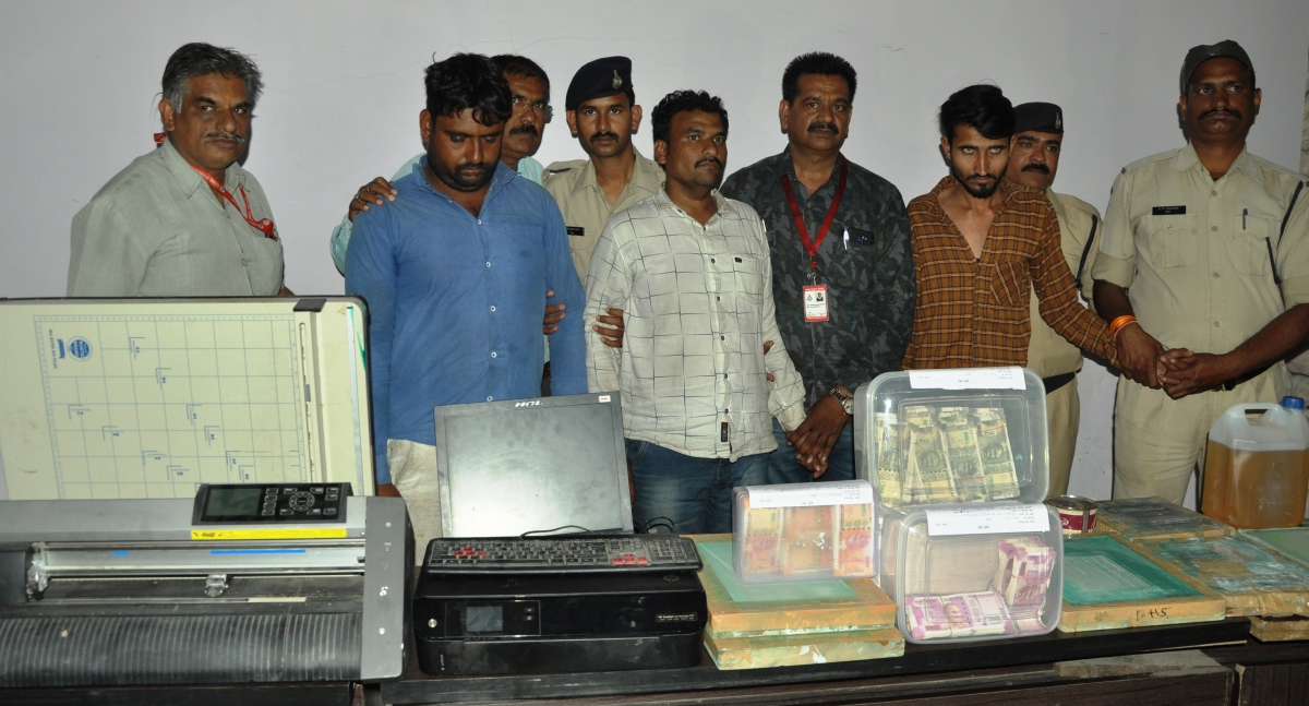 Indore: Three arrested with counterfeit notes worth Rs 20 lakh