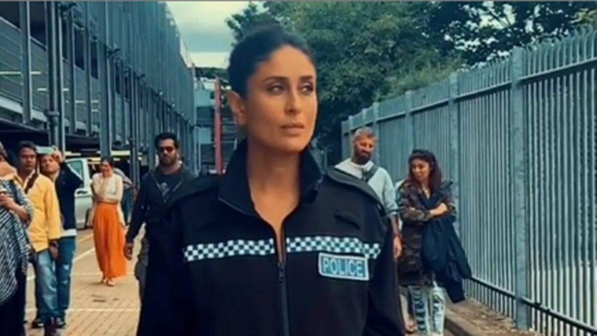 Kareena Kapoor's 'top cop' avatar will give Chulbul Pandey run for his money; watch video