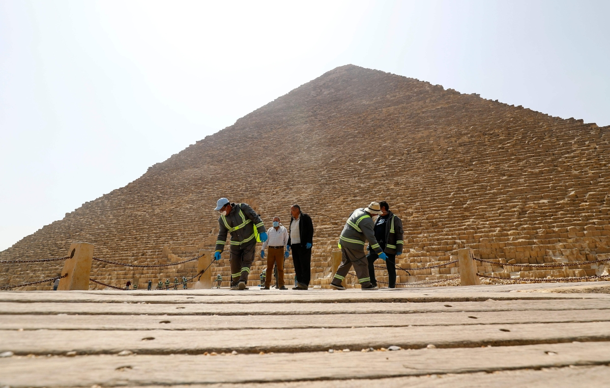 Latest Coronavirus Update: Egypt disinfects Pyramids of Giza to combat virus spread