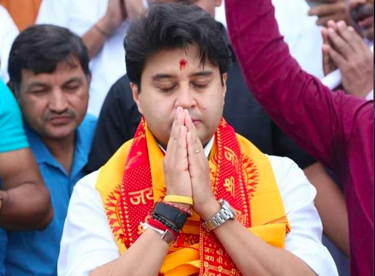 'Professional traitor': Jyotiraditya Scindia's Wikipedia page changed after scion resigns from Congress