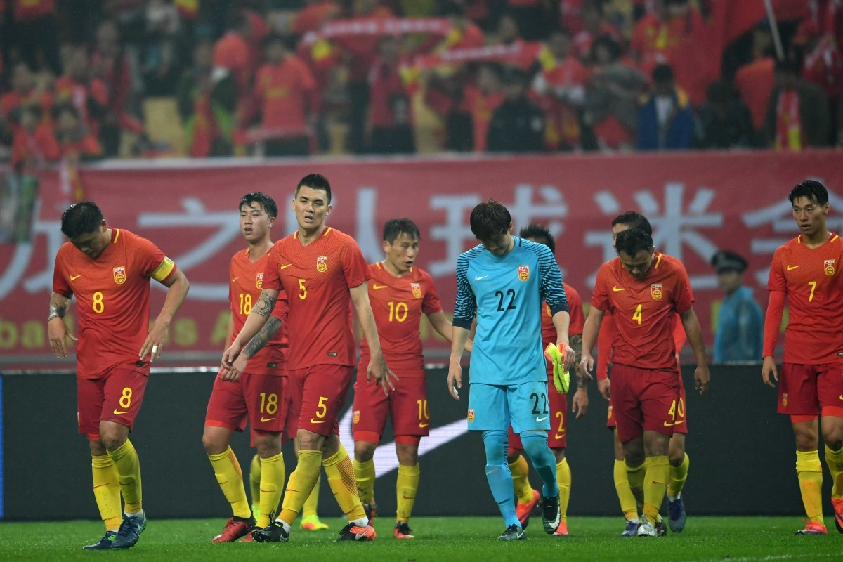 China's football team