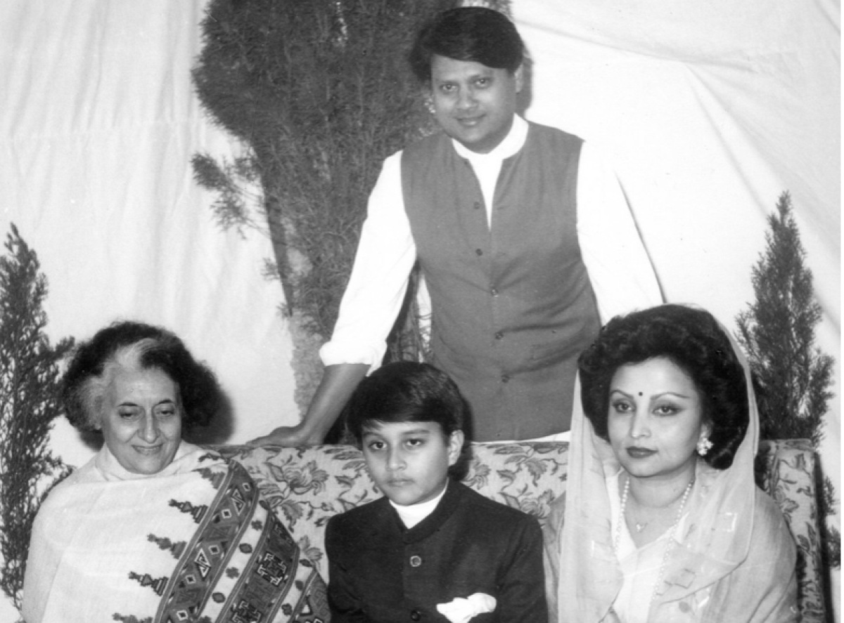 oung Jyotiraditya Scindia and Parents Meeting PM Indira Gandhi
