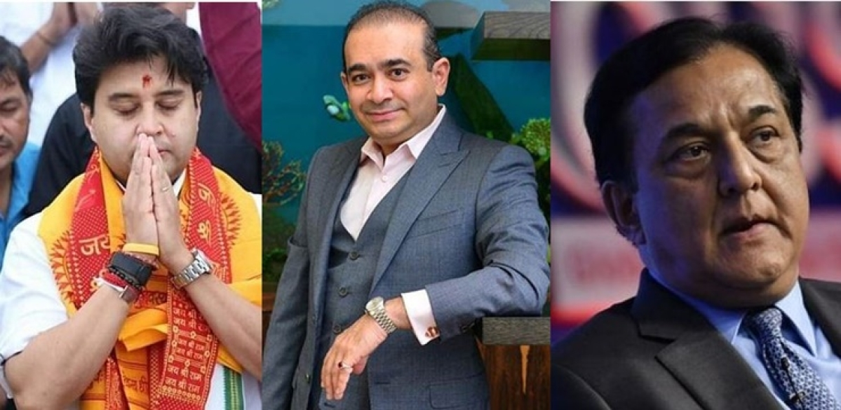 The uber-rich jinx? What do Rana Kapoor, Nirav Modi and Jyotiraditya Scindia have in common?