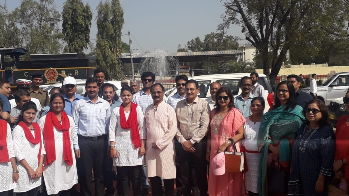C Rly organises 'Nukkad Natak on Women Empowerment' at Bhusawal