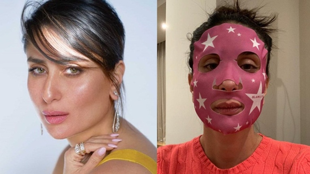 Poo Slumming it? Kareena Kapoor Khan's budget-friendly 'star' mask costs only Rs 1000