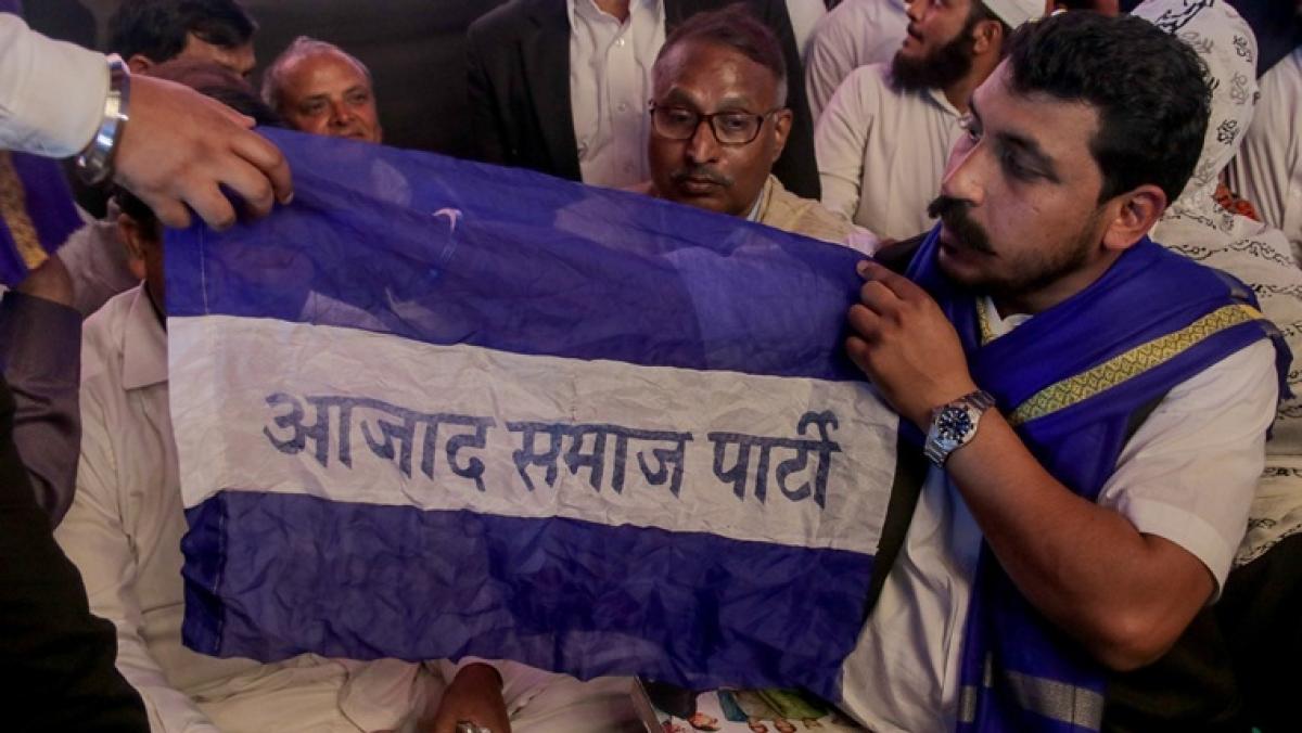 Bhim Army chief Chandrashekhar Azad launches political party