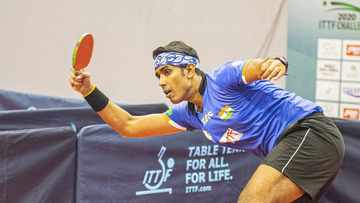 Oman Open: Sharath Kamal wins  maiden International title