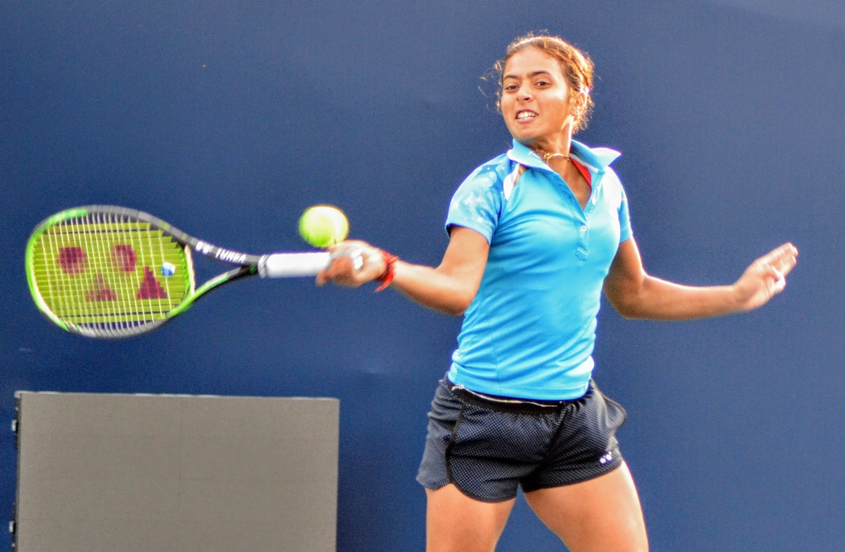Fed Cup: Rutuja Bhosale, Ankita Raina win as India beat Uzbekistan