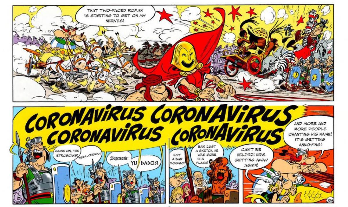 Asterix illustrator Albert Uderzo passes away: Did comic book 'predict' coronavirus outbreak?