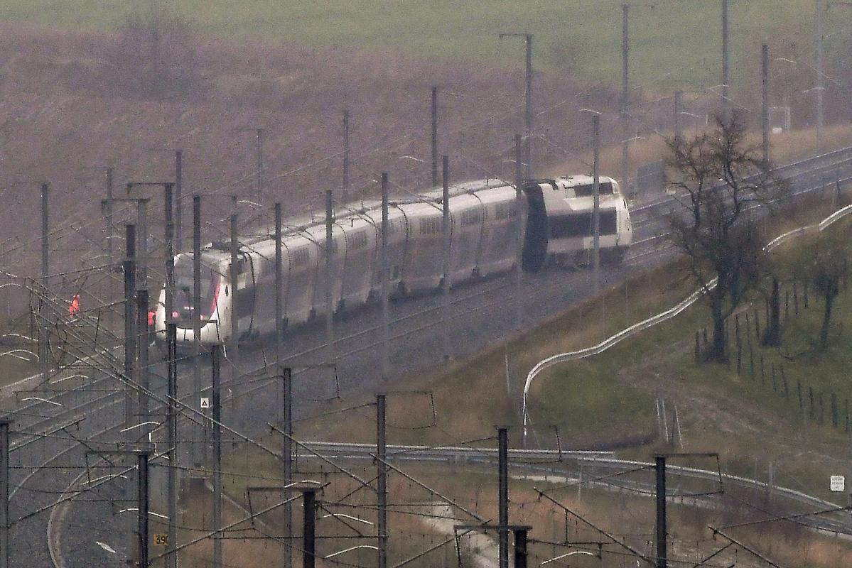 France: French TGV train derails, 21 hurt