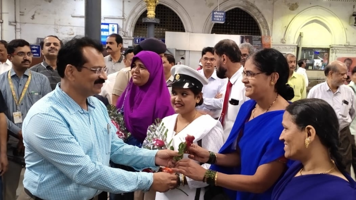Central Railway celebrates International Women's Day