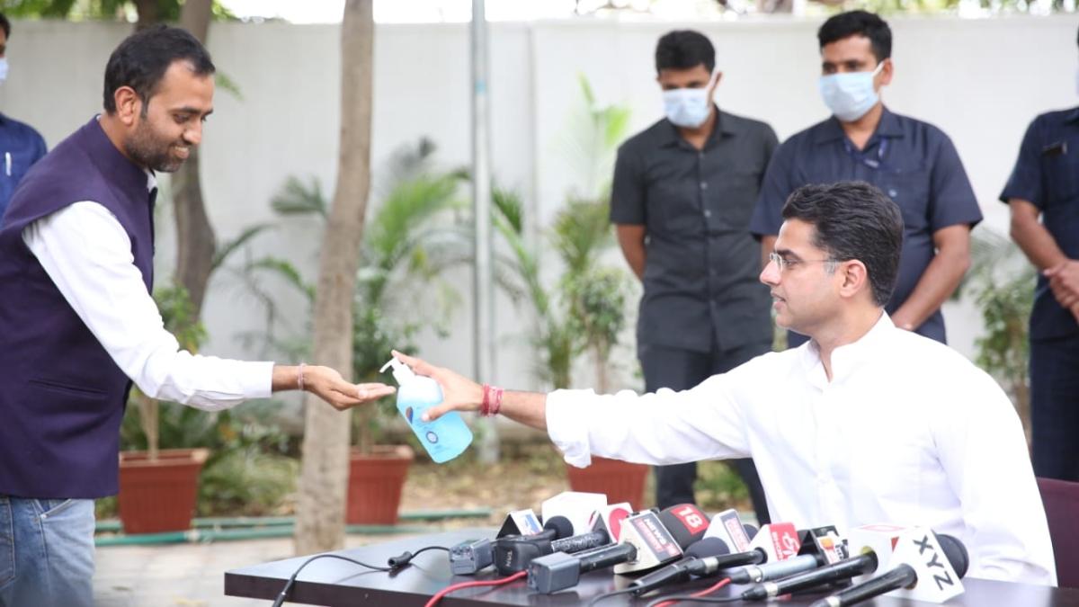 Gujarat Cong MLAs leave; Gehlot Pilot differ over EC decision to defer RS polls