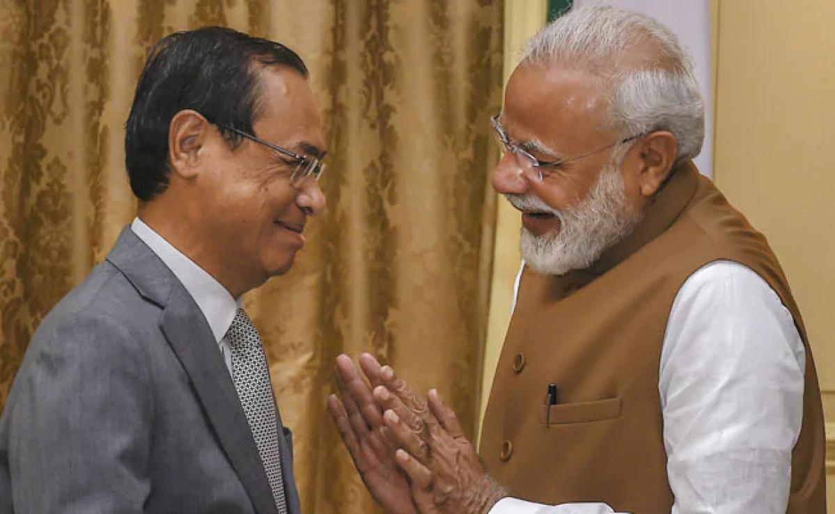 Justice Gogoi and Narendra Modi