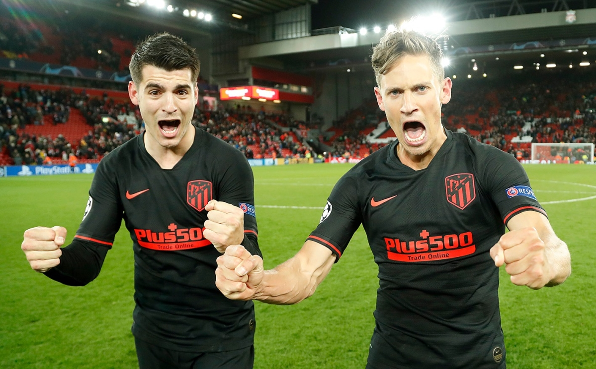 UEFA Champions League: Atletico's Morato, Llorente breach 'world's best defence' to knock out Liverpool