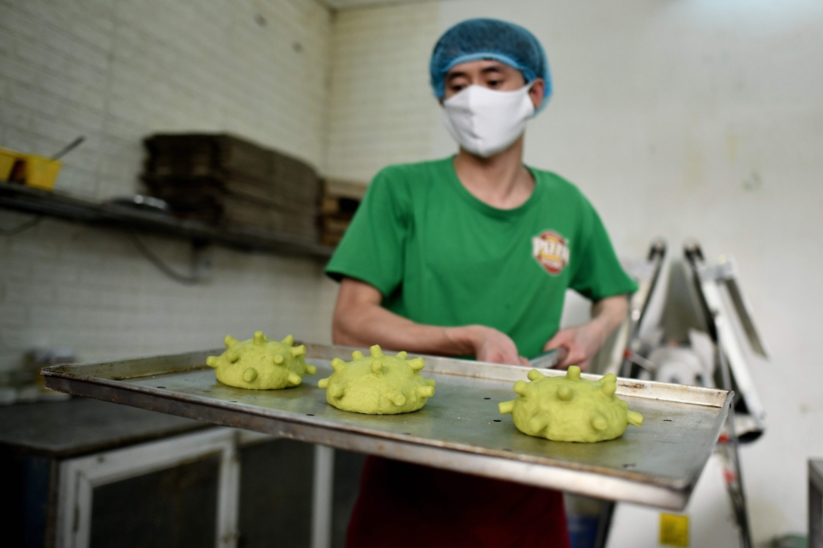 Inspired by Disney movie, Vietnam chef makes coronavirus burger to spread joy, becomes a viral sensation