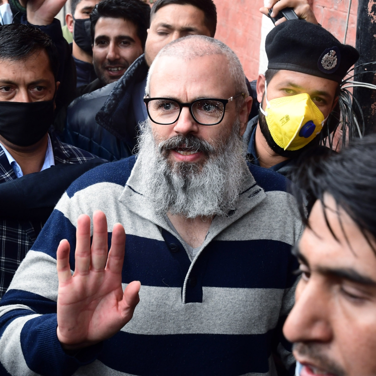 'Little humour doesn't hurt': Omar Abdullah can't stop laughing at himself after govt announces lockdown on day he gets free
