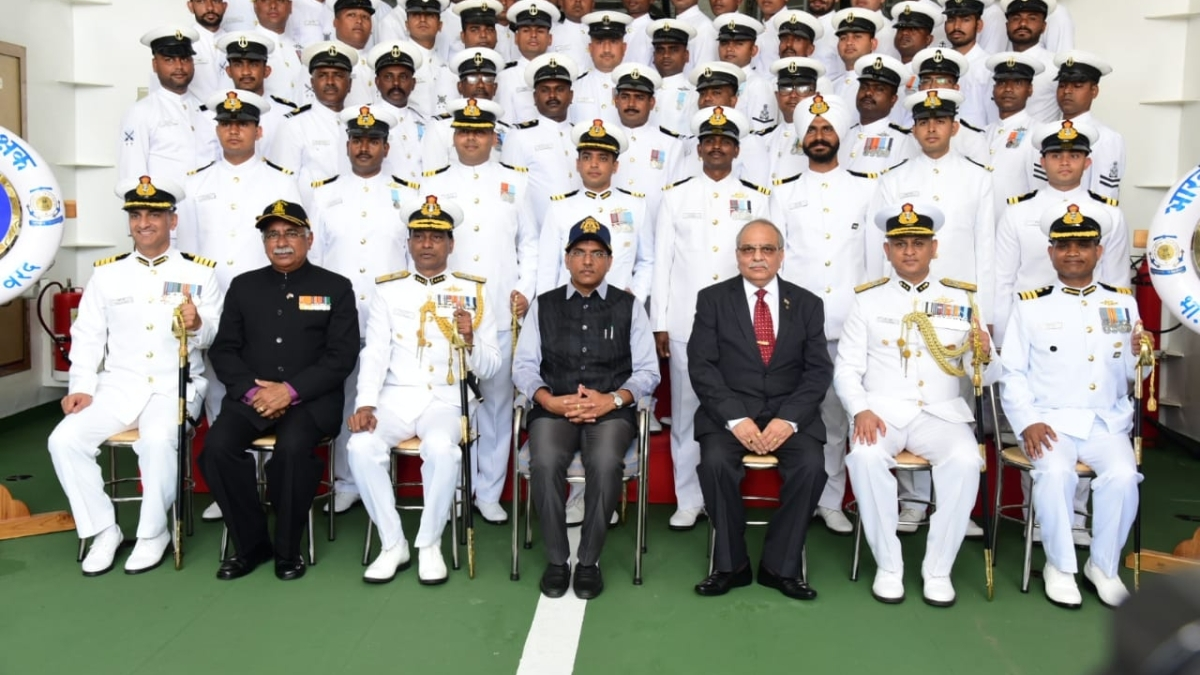 Offshore patrol vessel ICGS Varad commissioned