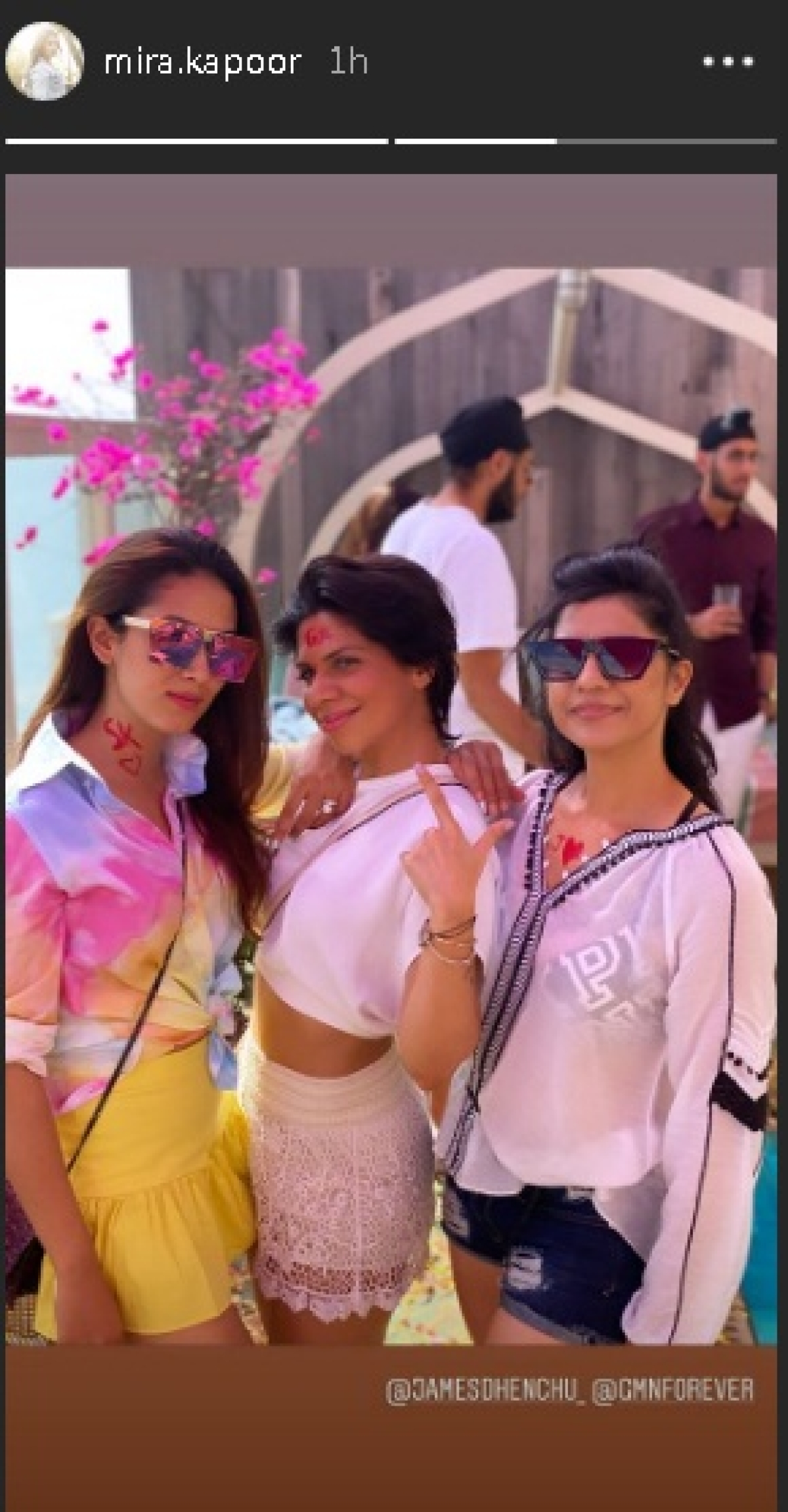 Shahid Kapoor's wife Mira shares 'love life in technicolour' on Holi and it's all things love
