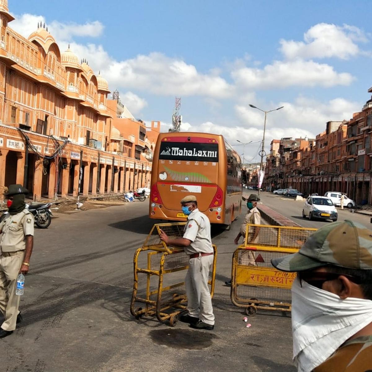 Coronavirus in Rajasthan: Curfew imposed in entire walled city areas of Jaipur