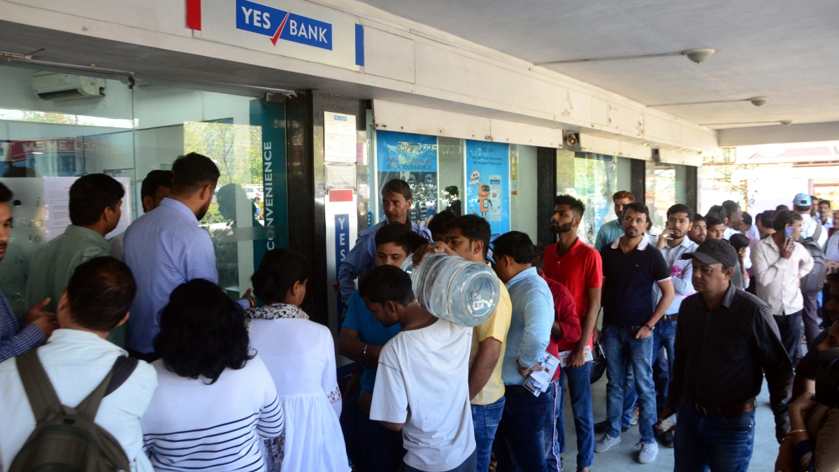 Account holders wants to withdraw money before Holi festival as their salaries are transferred in Yes Bank.
