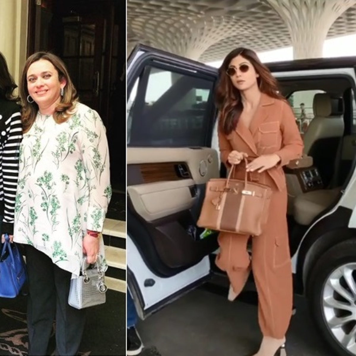 B-Town poses with Hermès bags; no surprise then that company reports a 55% jump in profits
