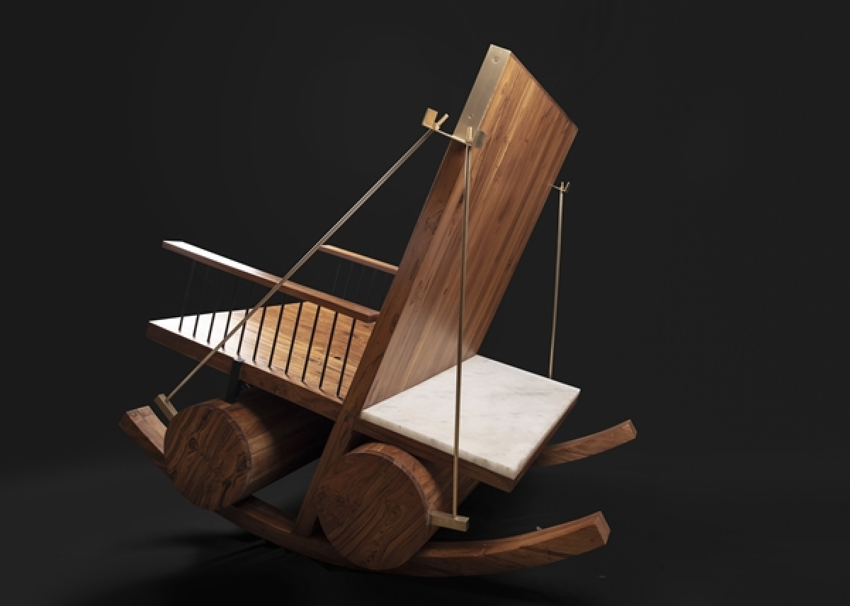 Shitij Dogra Architects's The firstborn rocking chair