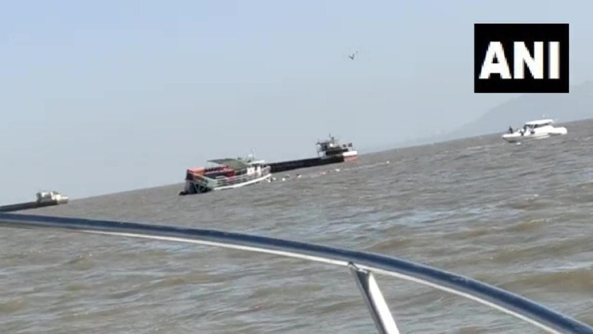 Maharashtra: Boat carrying 80 passengers capsizes near Mandwa, all passengers rescued