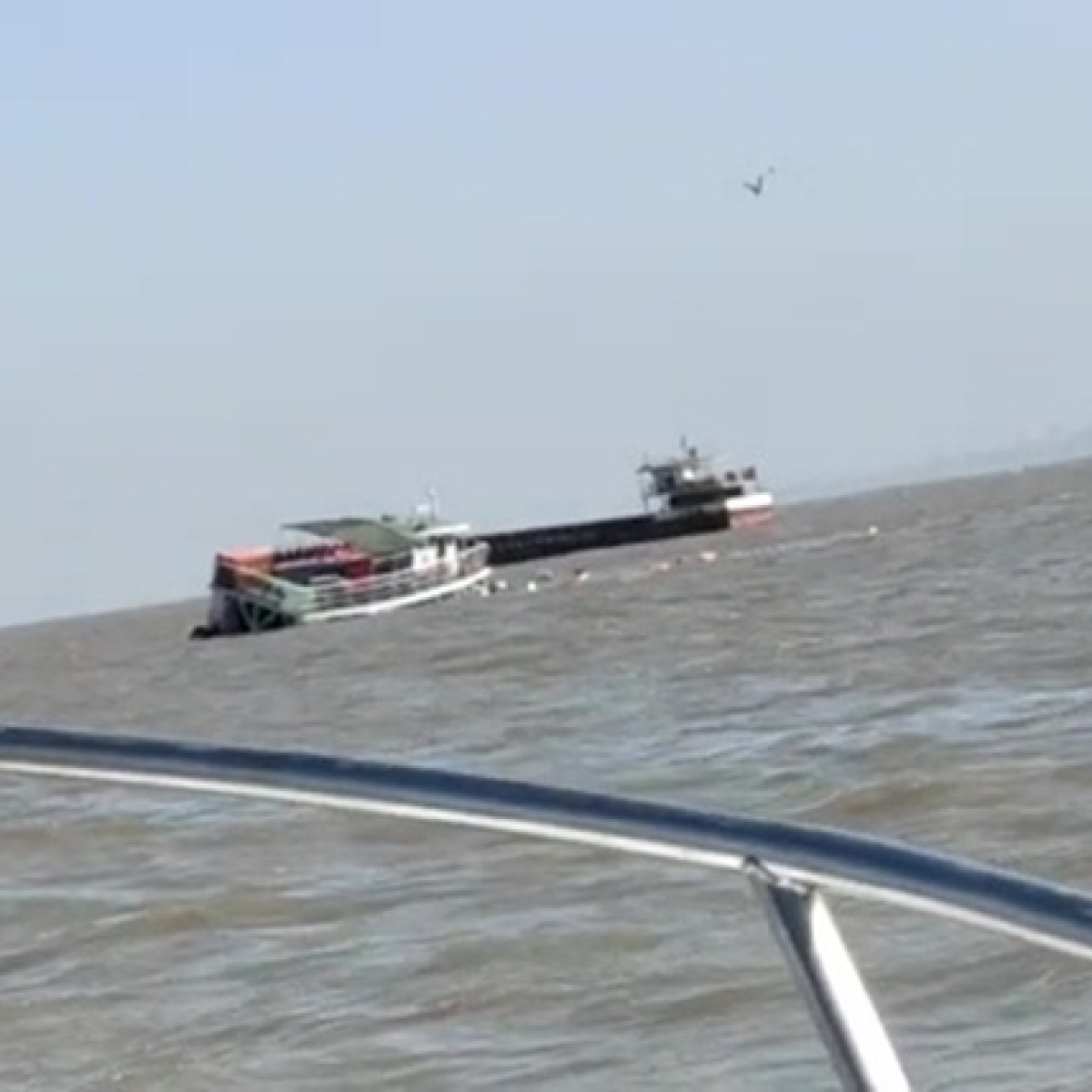 Maharashtra: Boat carrying 80 passengers capsizes near Mandwa, all passengers rescued