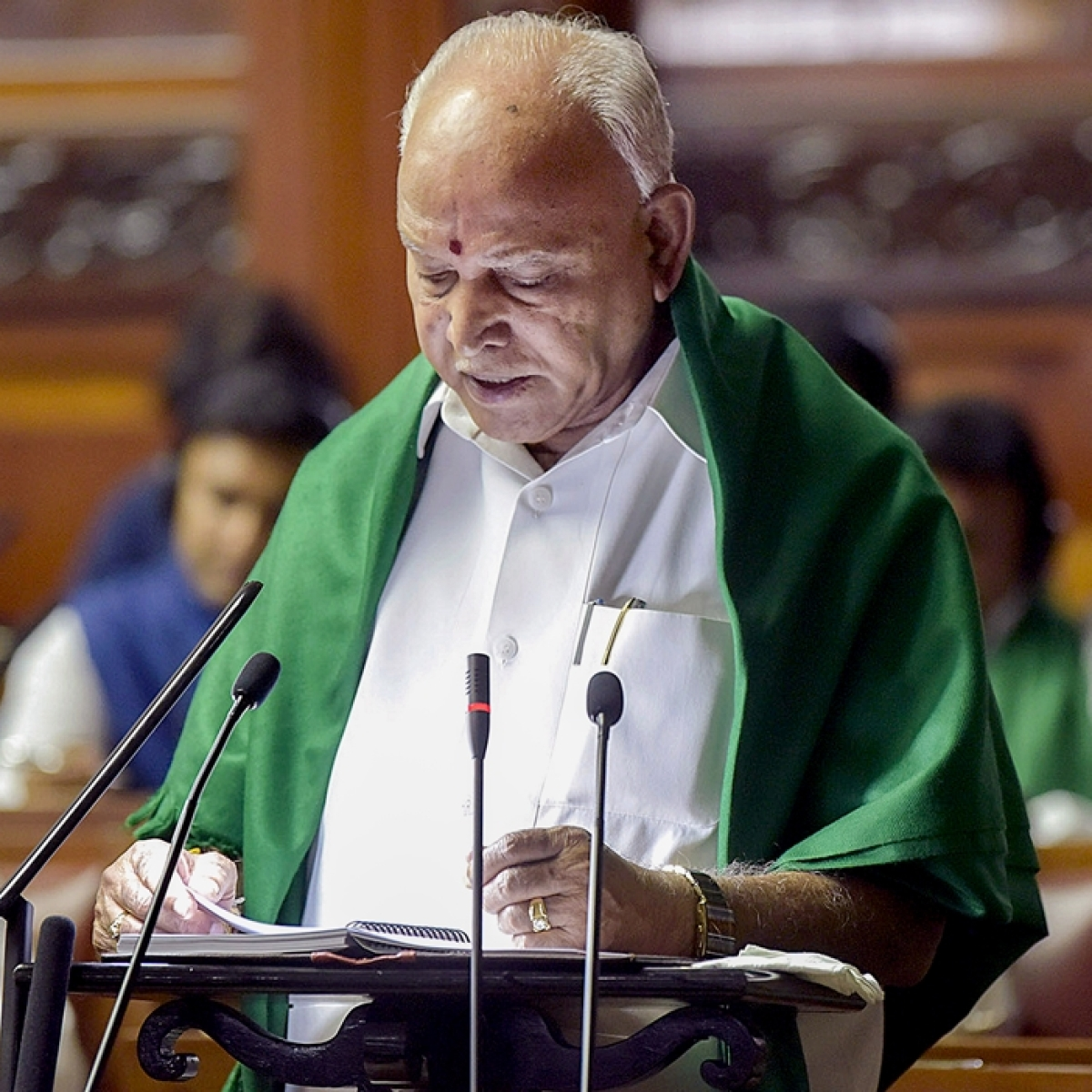 Karnataka CM BS Yediyurappa warns of strict action against those 'communalising' coronavirus