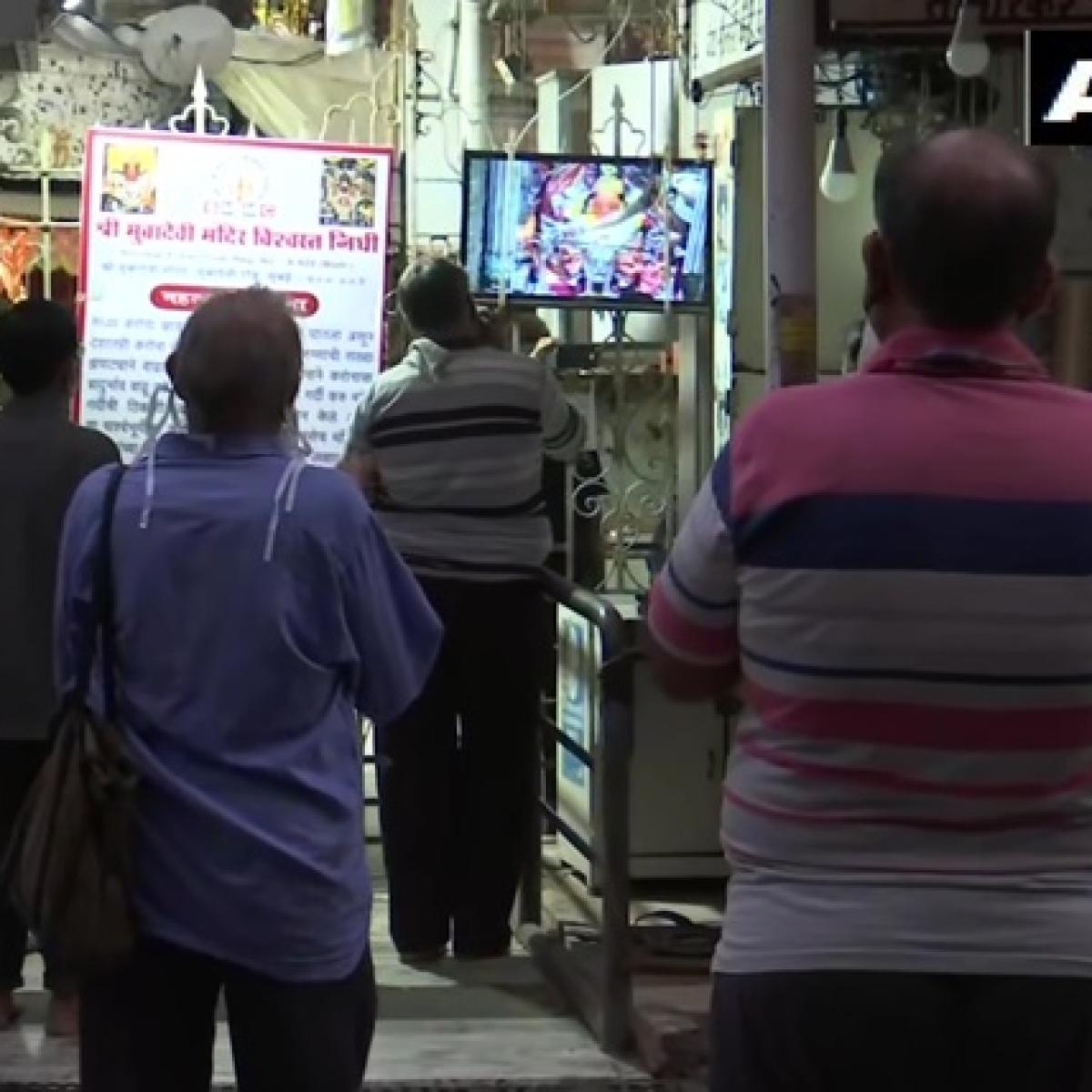 Coronavirus update: Aarti performed at Mumbadevi Temple by priests amid lockdown