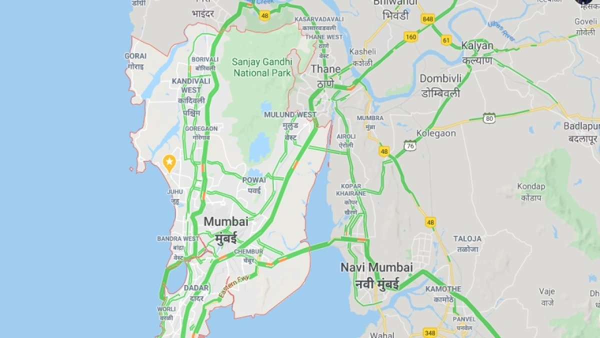 Mumbai Traffic: Check out how green Mumbai's roads look on Google Maps thanks to Janta Curfew