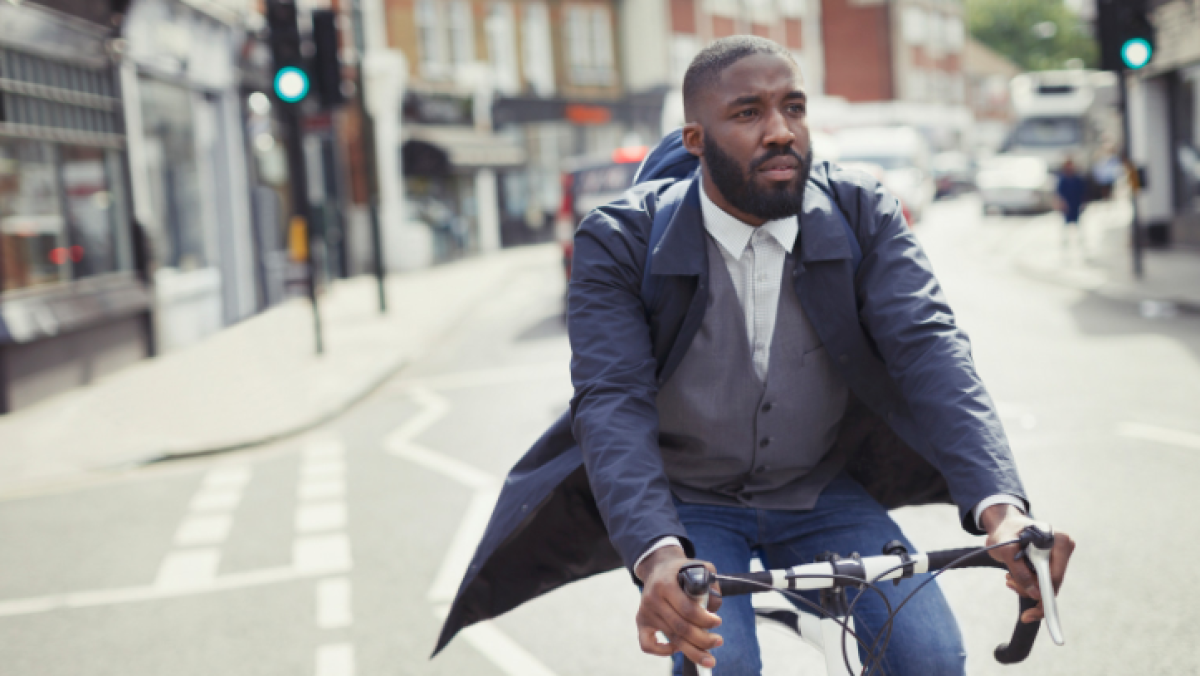 Cycling to work ups risk of getting injured