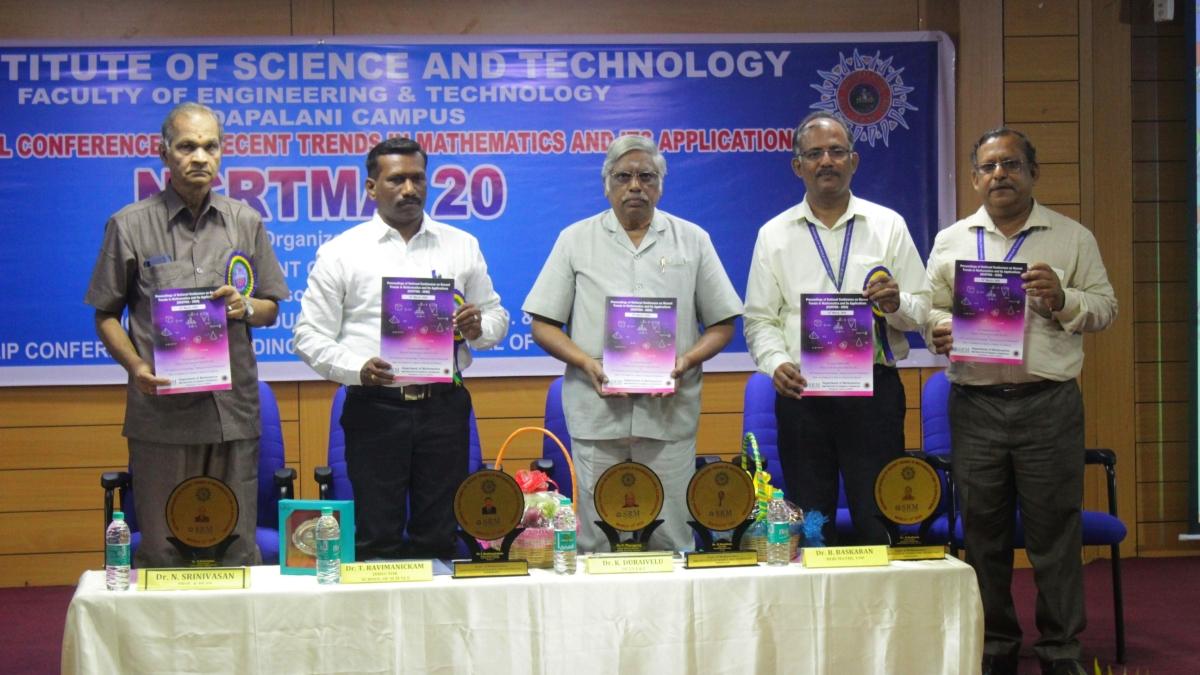 SRMIST organises NCRTMA'20