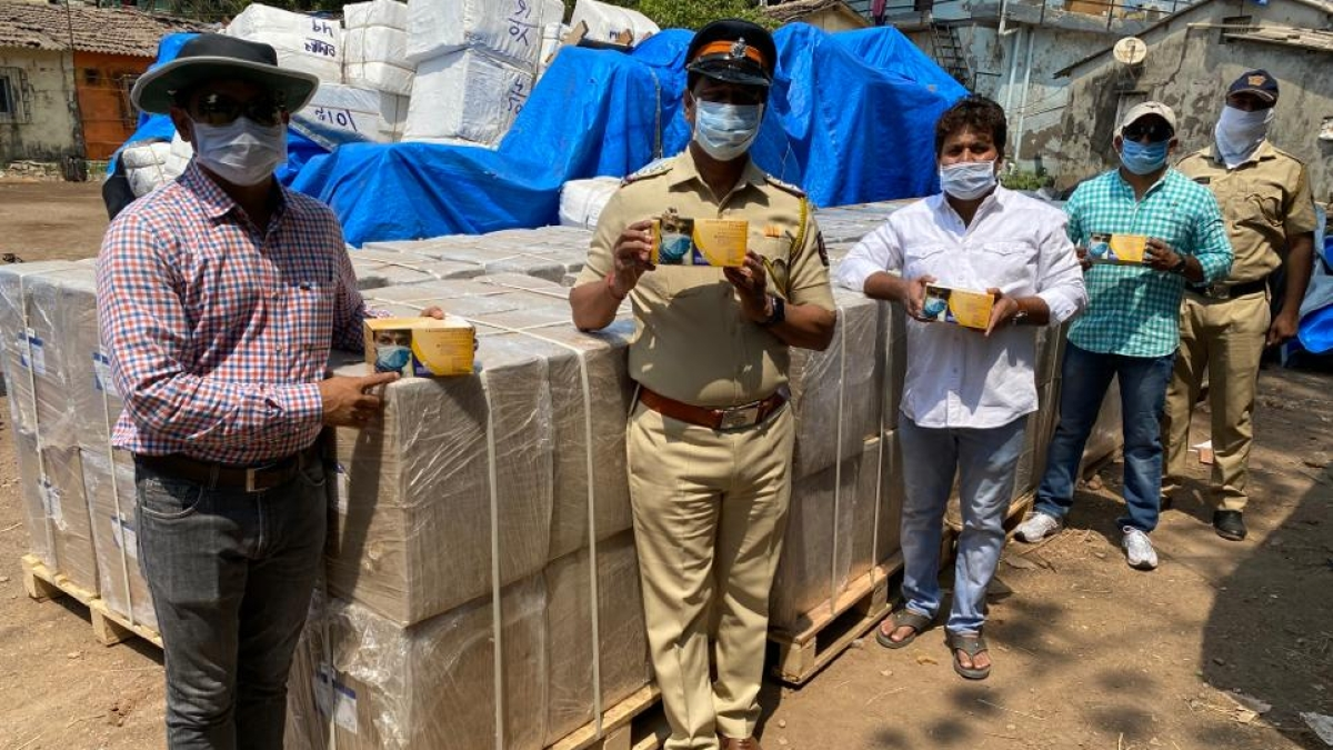 Mumbai: Amid coronavirus outbreak, 4 lakh masks worth Rs 1 cr seized by cops in Andheri godown; 5 booked