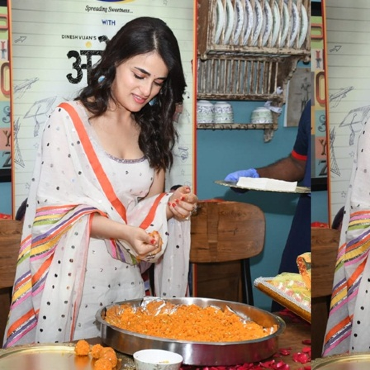 Is it okay for Radhika Madan to promote 'Angrezi Medium' like this amid coronavirus outbreak?