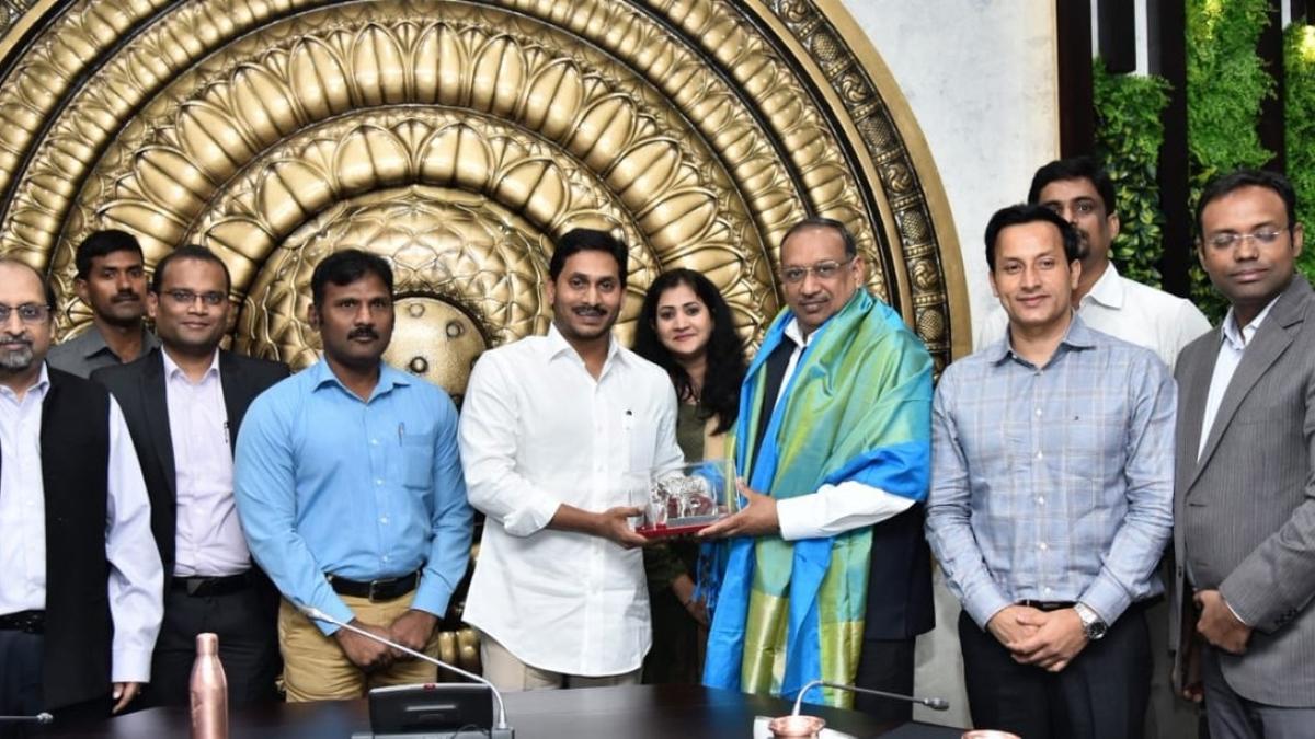 CM, Andhra Pradesh & NBCC CMD discuss the progress of 'Mission Build AP' initiative