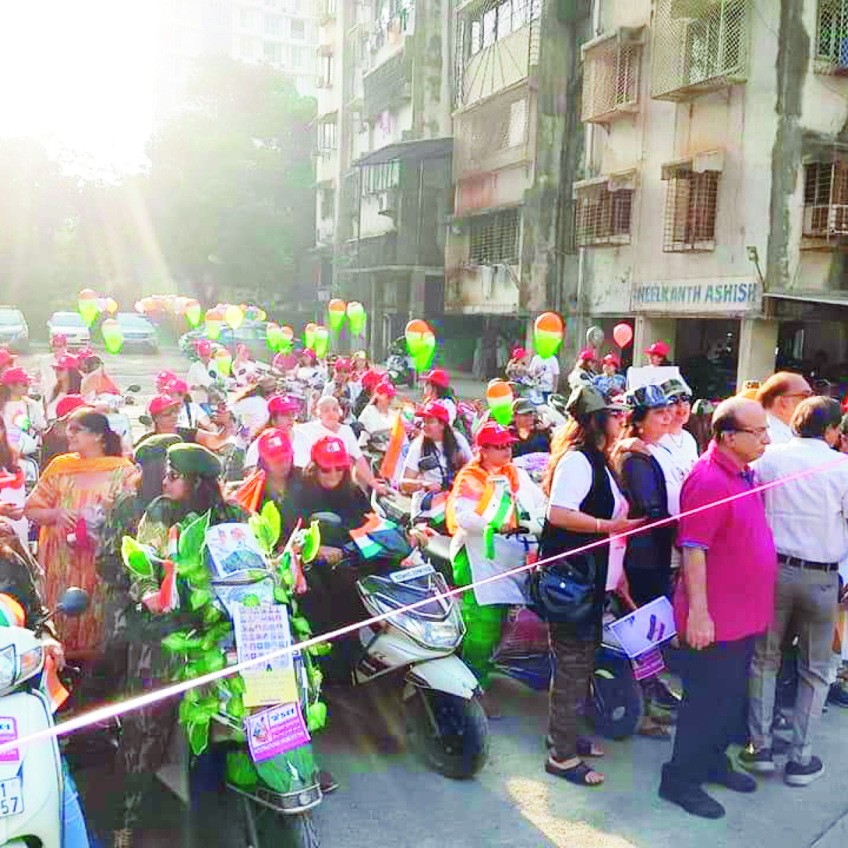Mumbaiya Gujarati: Women's bike rally in Mulund on March 8