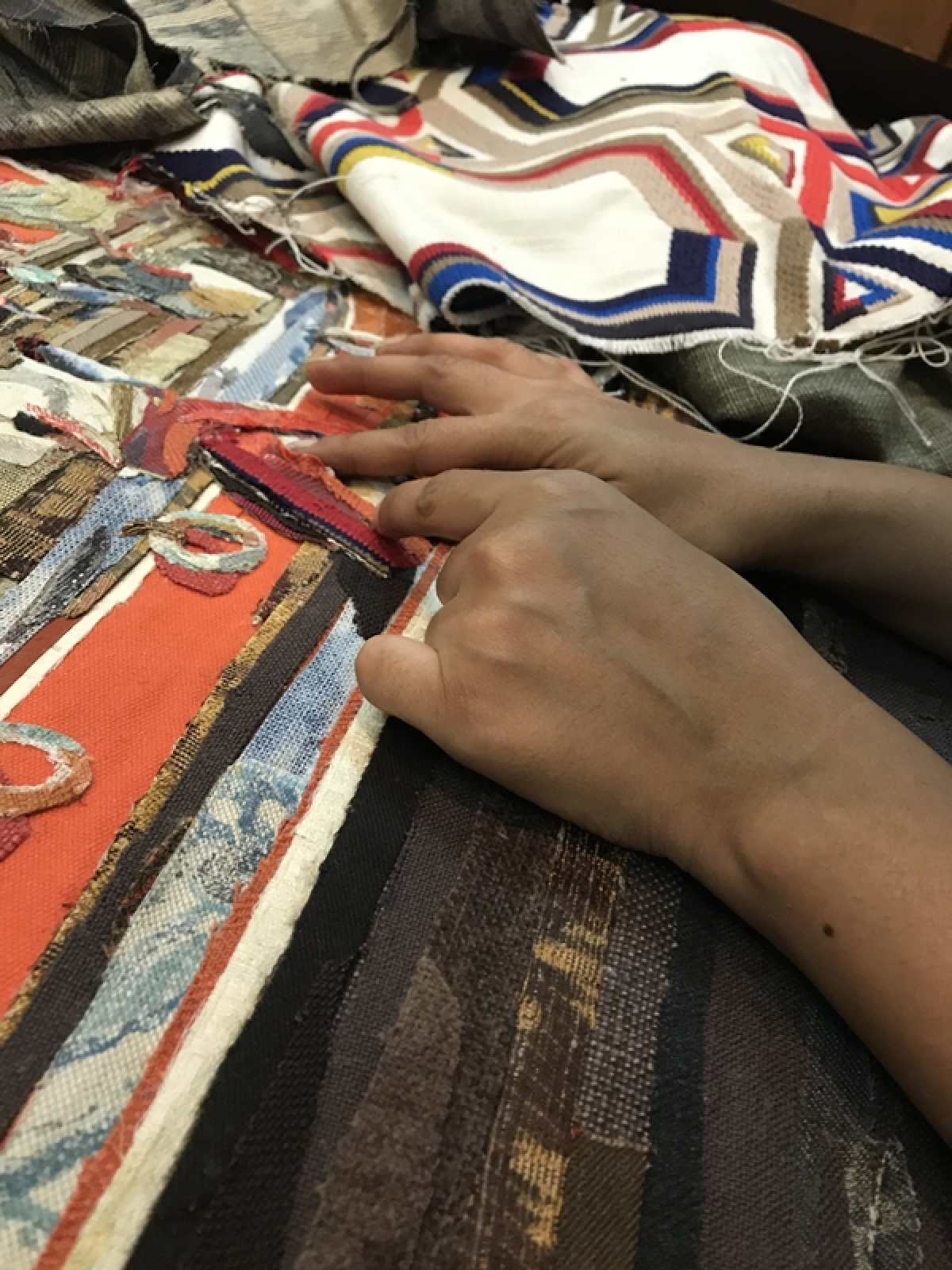 'The possibilities of working with textiles are limitless and magical' says Blue Bicycle Design founder Arrti Mansinghka