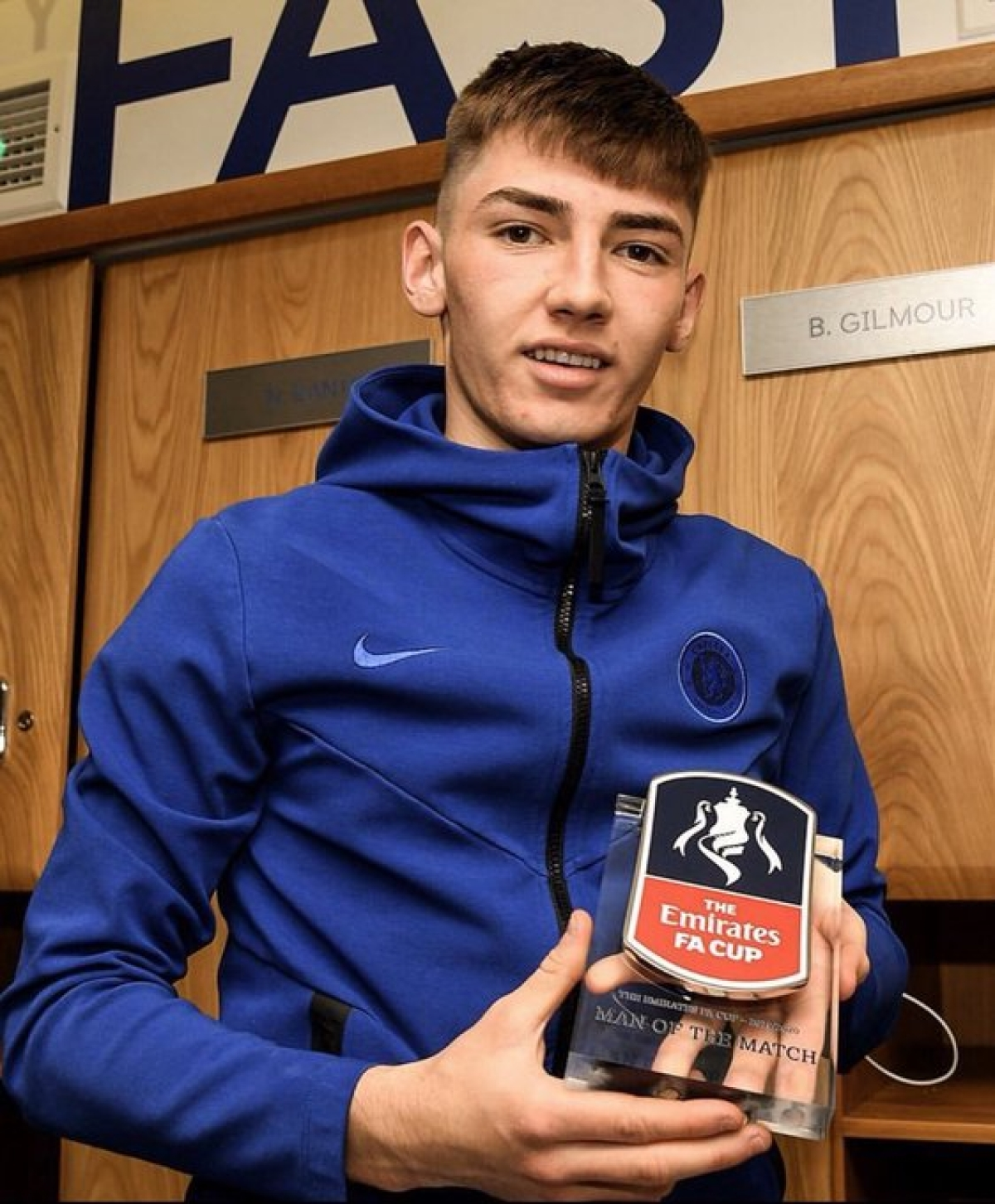 Billy Gilmour - Man of the Match