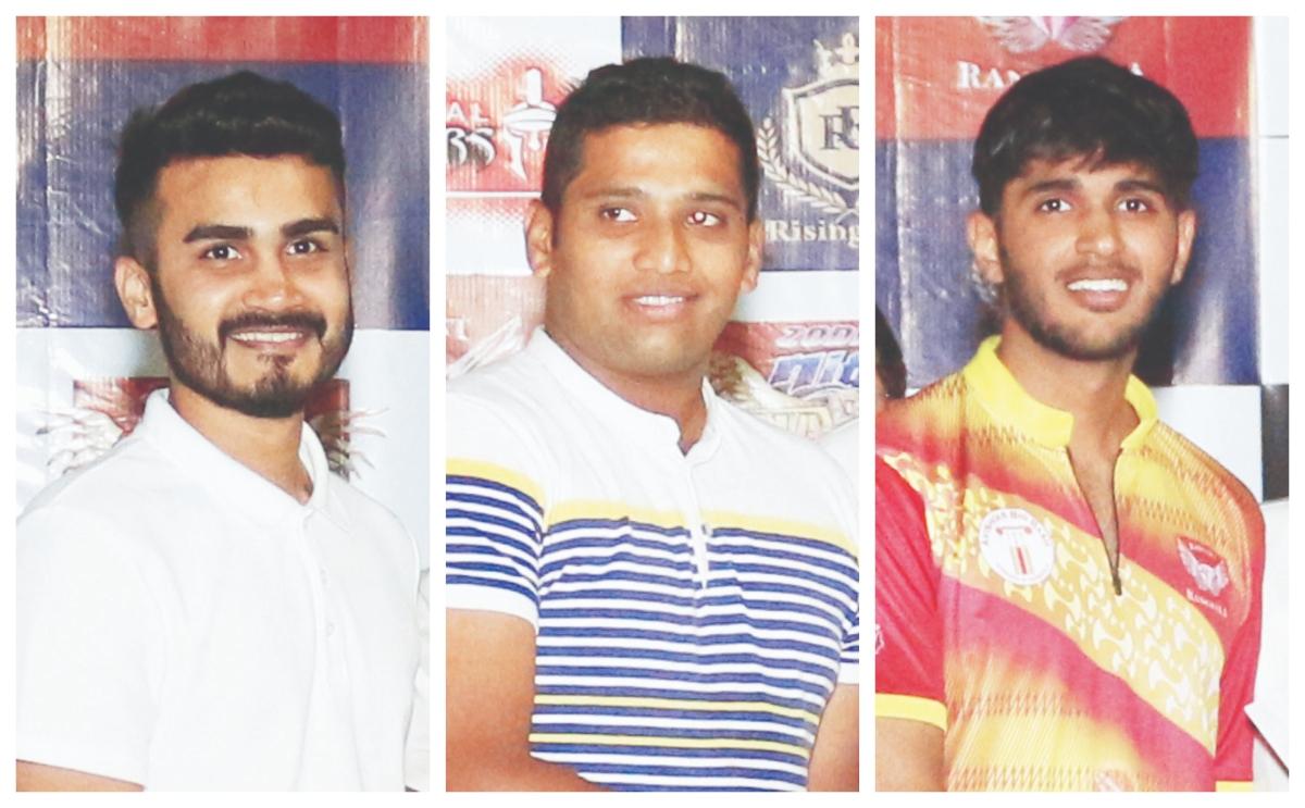 Rushabh Gada, Rishit Chheda and Shreyas Nisar
