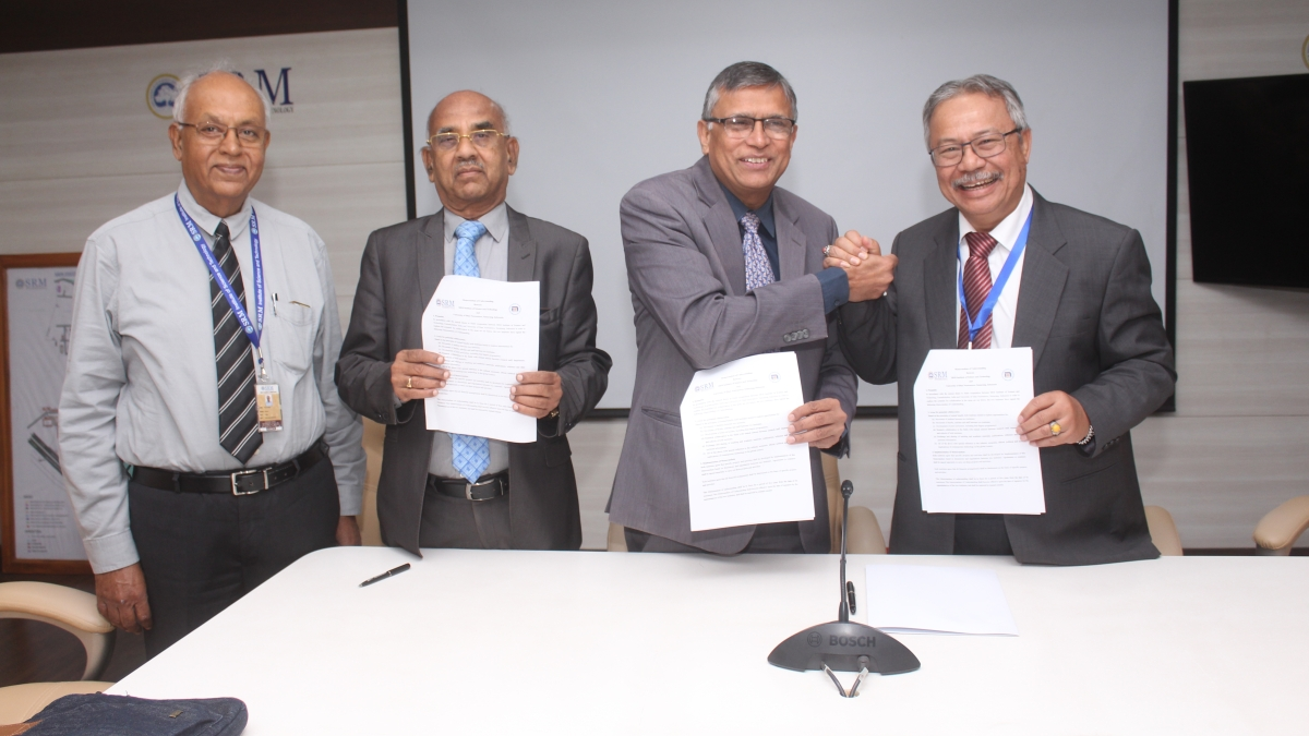 19 Indonesian Universities sign MoU with SRM