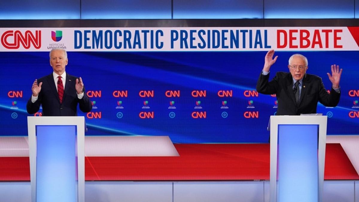 Joe Biden, Bernie Sanders cast themselves as 'best-positioned' to lead through coronavirus outbreak