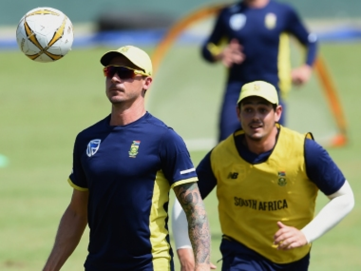 Dale Steyn says he would love to be in quarantine with skipper Quinton de Kock