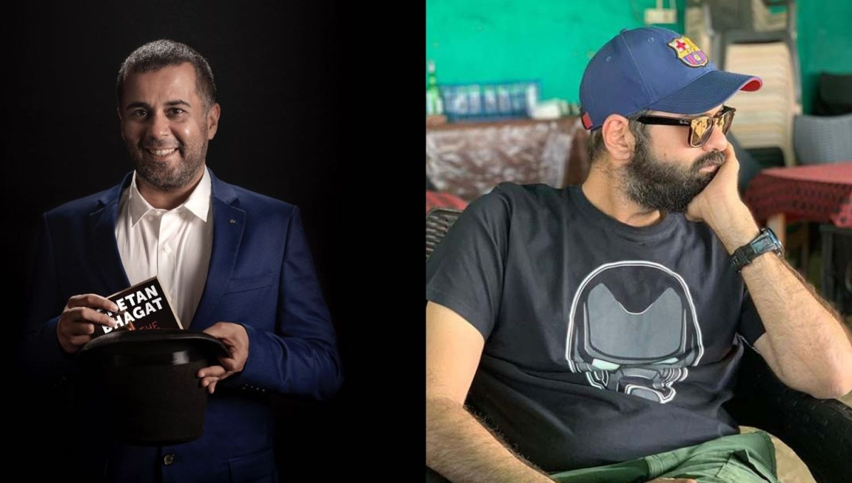 'You have to be someone to get insulted bro': Chetan Bhagat brutally trolls Kunal Kamra on Twitter