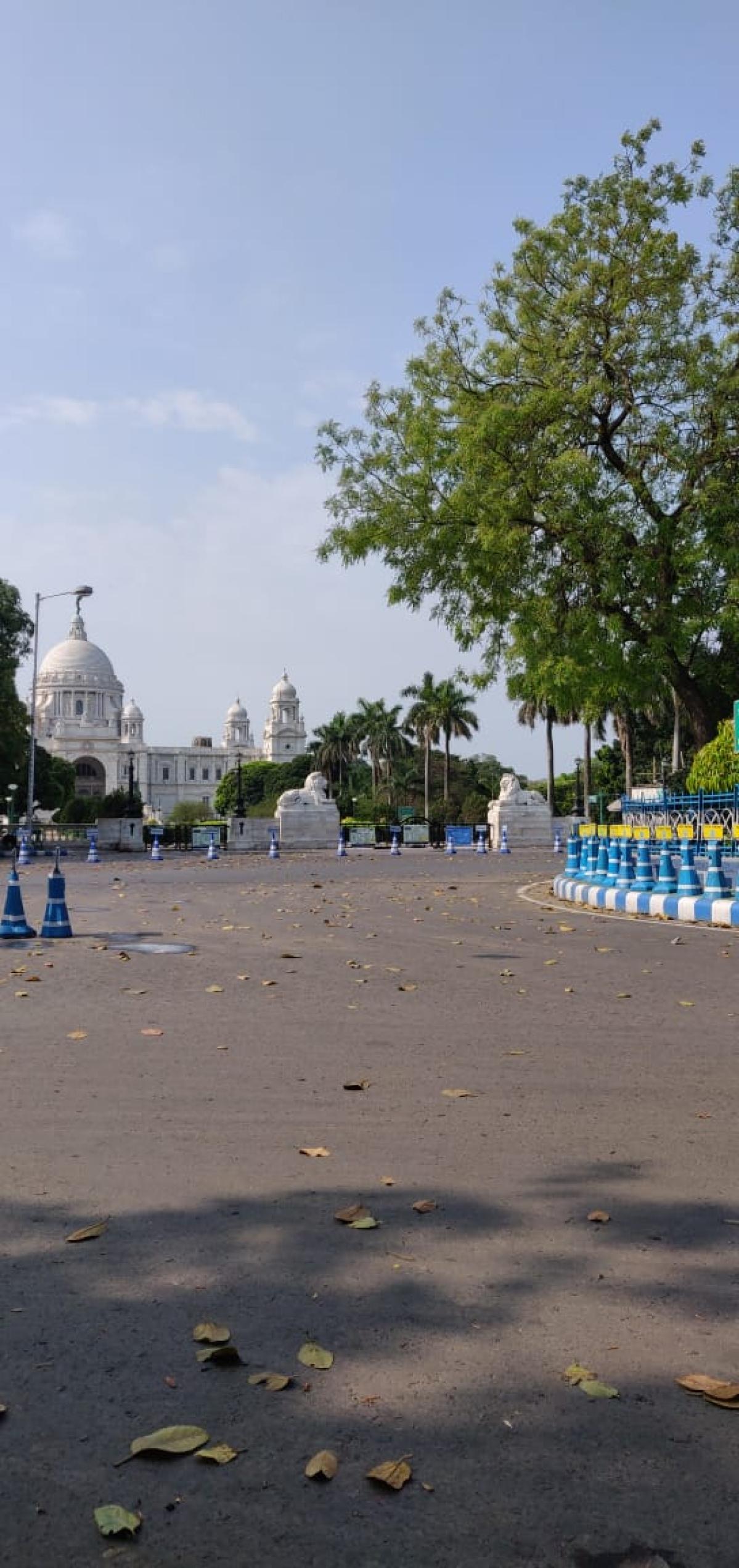 Visuals from Kolkata during Janta Curfew