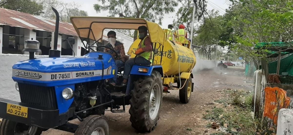 Ujjain: Police stations, residences of cops sanitized