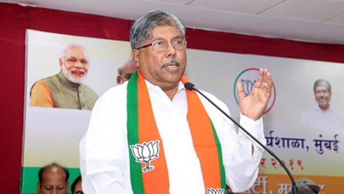 BJP state President Chandrakant Patil