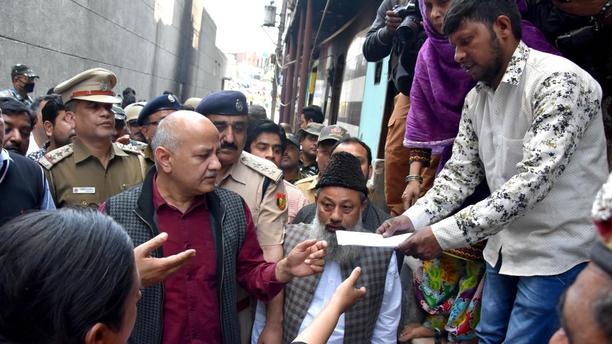 Delhi violence:  79 houses, 327 shops gutted in arson, says DCM Manish Sisodia
